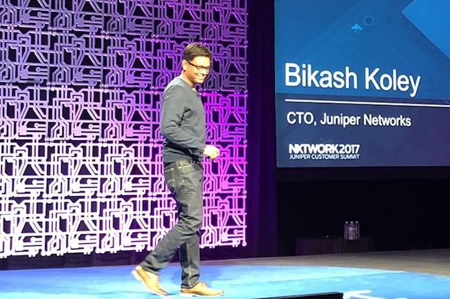 � Les entreprises pourront g�rer leurs politiques � travers plusieurs clouds publics et priv�s, et ce, � partir d'une plate-forme unique �, a indiqu� Bikash Koley, CTO de Juniper