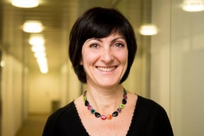 Annick Costa, directrice de la communication digitale et de la marque chez Docapost, a mis en place une politique de salariés ambassadeurs en 2016. (crédit : D.R.)