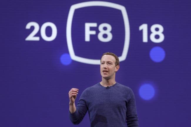 Bien décidé à garder le contrôle de Facebook, Mark Zuckerberg a introduit les prochaines évolutions attendues sur le réseau social à sa conférence développeurs F!. (Crédit Facebook)