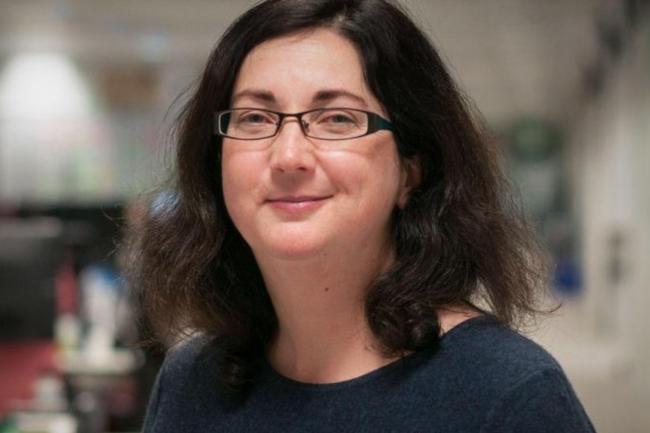Sarah Wells, directeur technique, responsable des opérations et de la fiabilité au Financial Times, est intervenue sur la conférence KubeCon, qui se tenait à Copenhague du 2 au 4 mai 2018. (Crédit : Jax Finance)