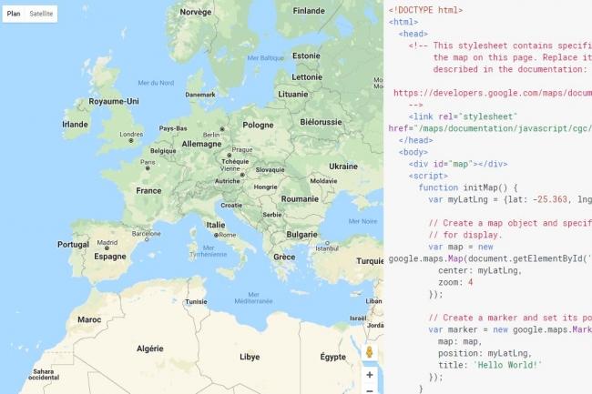 Les API Maps devraient rendre de très chers services à compter du 11 juin 2018 pour de très nombreux sites web les exploitant. (Crédit : Google)