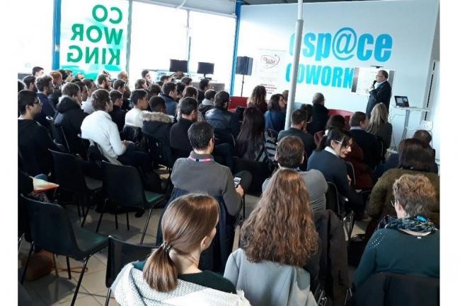 Organisé par l'association La Mêlée, JobsTIC est un lieu de rencontres qui vise à favoriser l'emploi IT en Occitanie. Crédit. D.R.