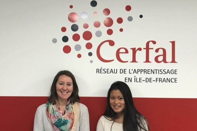 Lucie Bruston (chef de projets, à gauche) et Sylvie Ly (chargée de communication) ont facilité la collaboration entre tous les sites du Cerfal.