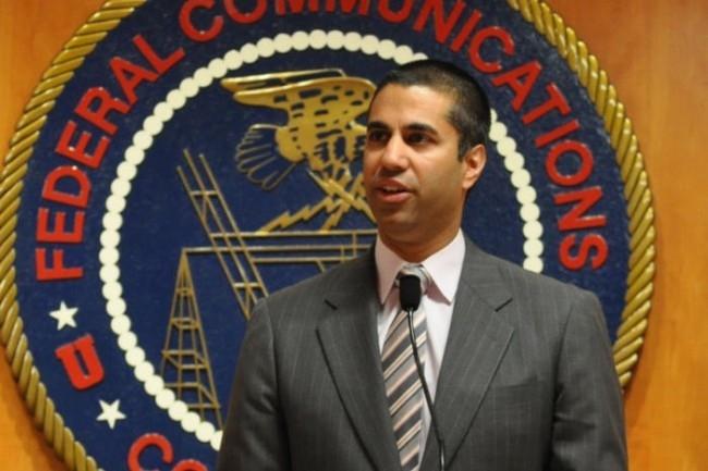 Voté en décembre dernier, le projet d'abolition de la neutralité du Net est porté par le président de la FCC, Ajit Pai, nommé par Donald Trump début 2017. (Crédit : D.R.)