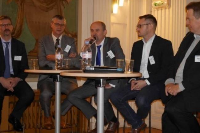 Plus de 600 professionnels informatiques sont venus assister aux matinées-débats en régions organisées par la rédaction en 2017, comme ici le 9 novembre dernier à Reims. (crédit : LMI)