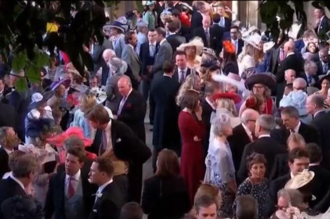 Plus de 600 invités de marque se sont rendu au mariage du prince Harry et de Meghan Markle samedi 19 mai 2018 à Windsor. (crédit : D.R.)