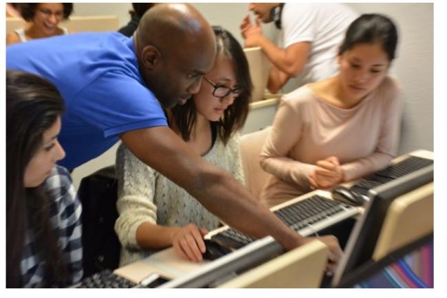 La Grande école du numérique permet en priorité à des jeunes, des personnes sans diplôme ou à la recherche d'un emploi de se former aux nouvelles technologies. Crédit: D.R.