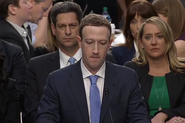 Lors de son oral devant le Sénat, Mark Zuckerberg n'avait pas été trop déstabilisé mais avait de nombreuses fois botté en touche pour répondre aux questions les plus épineuses. Adoptera-t-il la même stratégie ce soir au Parlement européen ? (Crédit : D.R.)