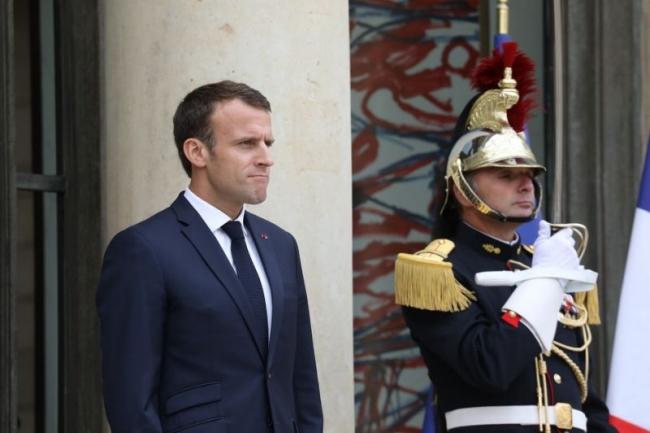 Un jour avant l'ouverture du salon Viva Technology 2018, le président de la République, Emmanuel Macron, reçoit une soixante de dirigeants d'entreprises, principalement du numérique, à déjeuner au Palais de l'Elysée. (Crédit : D.R.)