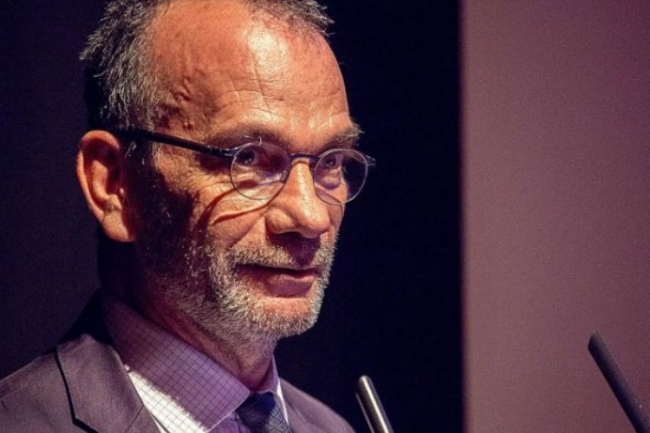 Paul-Olivier Gibert, Président de l'AFCDP, tenait hier 24 mai un séminaire sur le thème du big bang, à la veille de l'entrée en vigueur du RGPD (photo AFCDP).