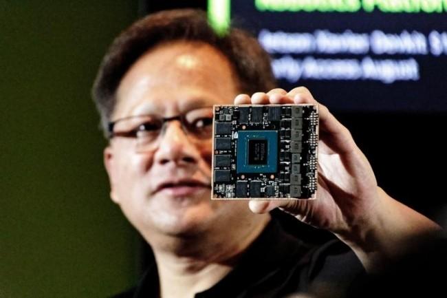 Jensen Huang, CEO et fondateur de Nvidia, renforce son offre IA avec le SoC dédié Jetson Xavier. (Credit: Fergus Halliday | IDG)