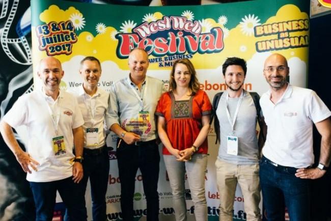 L'an dernier, la start-up rennaise Frigomagic a remporté la start-up battle du West Web Festival pour son app culinaire. CRédit. D.R