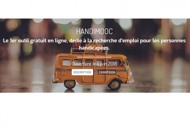 Depuis le 4 juin dernier, HandiMooc permet de prendre en compte au mieux une situation de handicap dans le cadre d'une recherche d'emploi. (crédit. D.R)