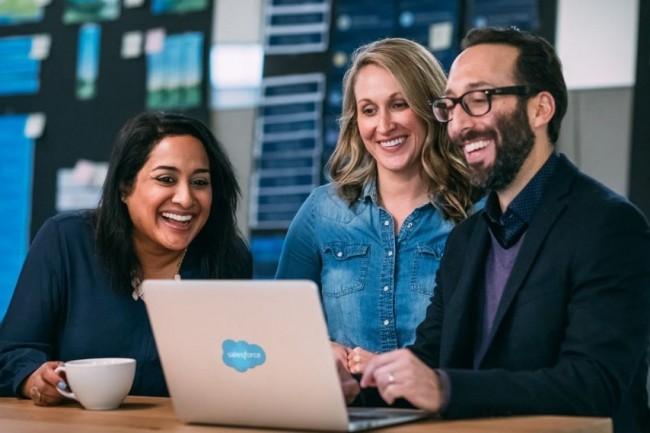 Le classement Great Place To Work Europe 2018 consacre Salesforce à la place de numéro 1 des entreprises où il fait bon vivre en Europe. (crédit : D.R.)