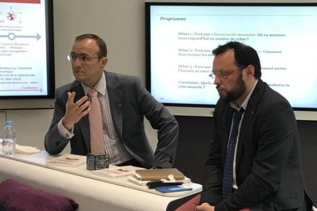 Pascal Andrei, directeur de la s�curit� d'Airbus, a pos� 25 conditions avant d'accepter le passage � G Suite (photo DR).