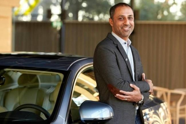 Atif Rafiq, DSI monde de Volvo, conçoit sa voiture connectée en partenariat avec Google et Amazon (Crédit : Volvo).