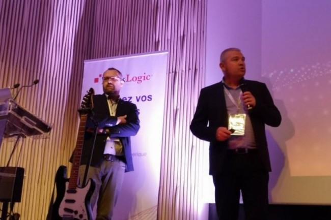 S�bastien Moitel, responsable organisation � gauche et Franck Willot, directeur informatique et digital � droite, de Lamie Mutuelle, pr�sentent leurs choix d'infog�rance totale et de la plateforme MarkLogic (photo MarkLogic).