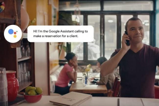 Cet été, Google devrait commencer à tester avec Duplex les réservations dans les restaurants et les demandes de rendez-vous chez le coiffeur, seules tâches que le chatbot sait gérer pour le moment. (Crédit : Google)