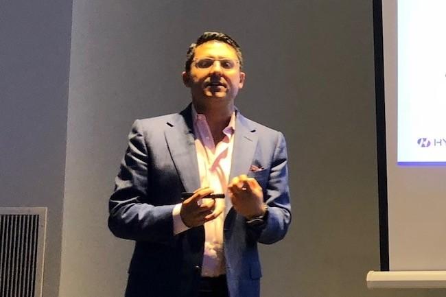 CEO de Hycu, Simon Taylor a choisi de miser sur Nutanix pour assurer le développement de la société. (Crédit S.L.)