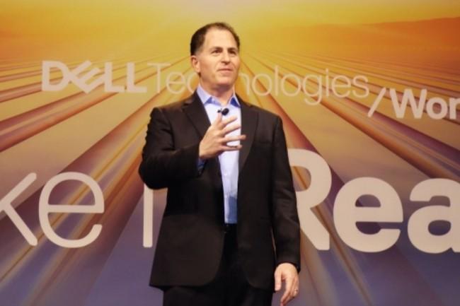 Michael Dell, CEO et fondateur de Dell technologies, pourrait remettre son entreprise sur le chemin de la bourse en 2019. (cr�dit : Maryse Gros)
