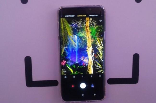 Des utilisateurs de terminaux Galaxy S9 (en photo) mais aussi de Note 8 ont relevé l'envoi non sollicité de tout ou partie de leur photothèque à des tiers. (crédit : D.F.)