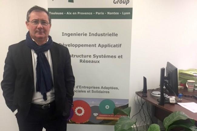 Co-fondateur et président d'Arcesi, Alain Olives est également administrateur du Syntec et président de la commission handicap du syndicat. Crédit photo : D.R