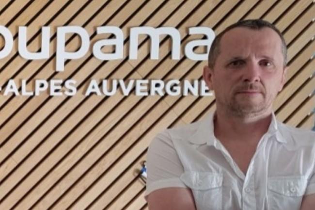 Vincent Cornely, responsable infrastructures et gestion technique de Groupama Rhône Alpes, a tout d'abord été dubitatif avant d'être particulièrement séduit. (crédit : Groupama)