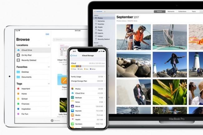 iOS 11.4.1 apporte des améliorations dans la localisation des AirPods par l'app Find My iPhone ainsi que dans la synchronisation des mails, des contacts et des calendriers avec les serveurs Exchange. (crédit : Apple)