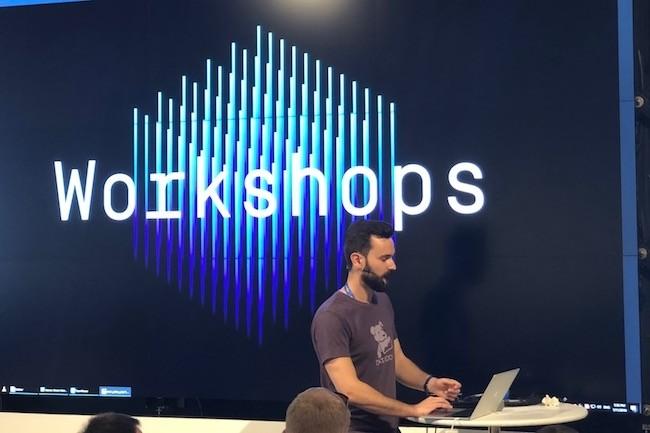 Charly  Fontaine, ingénieur logiciel chez Datadog a animé une des ateliers consacrés à Kubernetes et AWS.  (Crédit S.L)