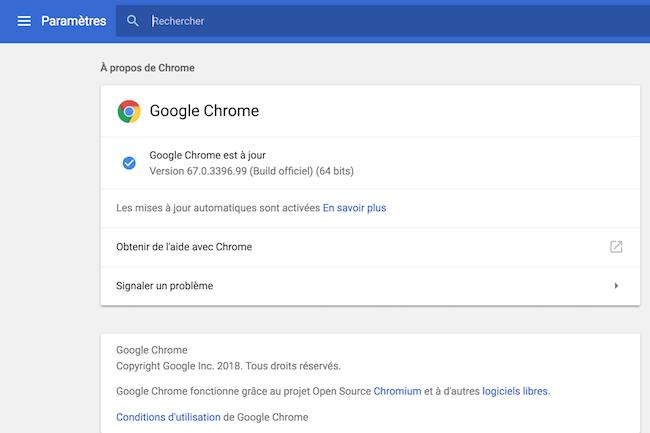 Chrome devient encore plus gourmand en RAM, � cause de la protection contre les failles Spectre.