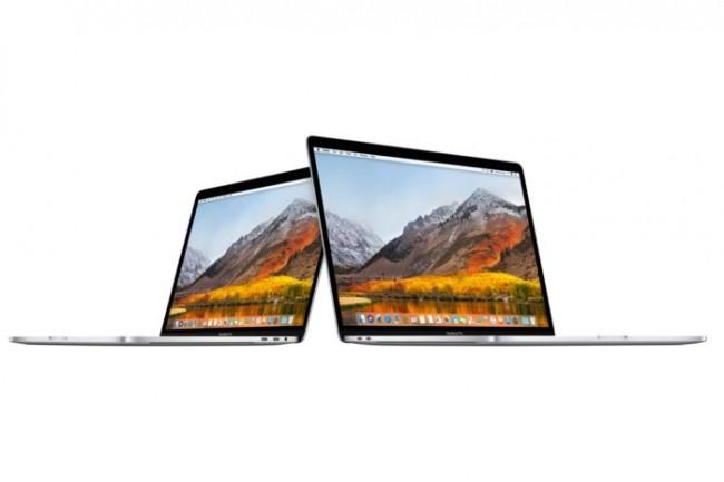 Avec un peu de retard, Apple intègre les puces Intel Coffee Lake dans ses Macbook Pro. (Crédit Apple)