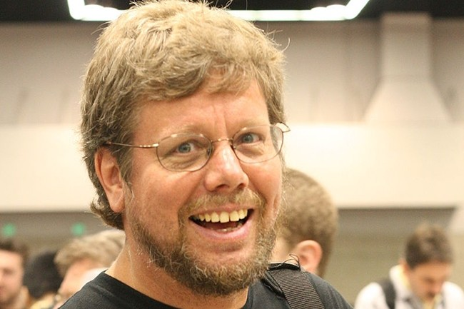 C'est en 1989, alors qu'il est en vacances pour Noël, que Guido van Rossum écrit la première version du langage Python. (Crédit : Wikipédia)