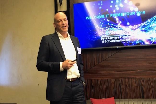 Marc Fleischmann, cofondateur et CEO de Datera, a déjà des POC en France pour sa solution de stockage. (Crédit D.R.)