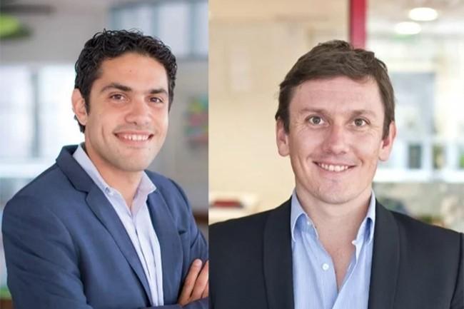 Fondée en 2007 par Jonathan Benhamou (à gauche) et Clément Buyse, PeopleDoc cumule un portefeuille de 1 000 entreprises clientes de tous secteurs. (Crédit : PeopleDoc)