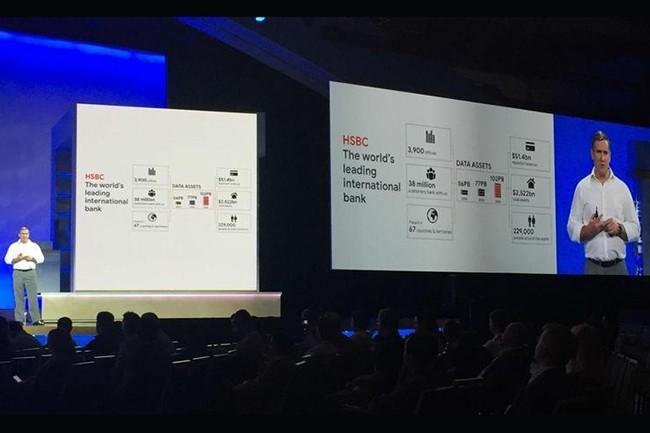 Darryl West, CIO de HSBC, s'est exprimé sur scène à l'événement Google Cloud Next, à San Francisco, pour la deuxième année consécutive. (Crédit : IDG)