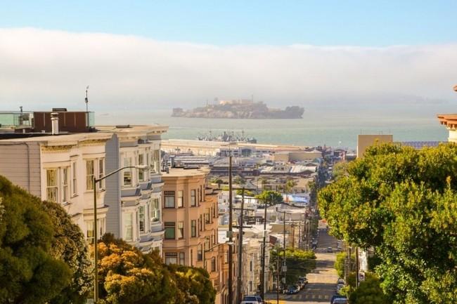 D'après la California Association of Realtors, le prix moyen d'une maison à San Francisco coûte 1,5 million de dollars. (crédit : USA-Reiseblogger / Pixabay)