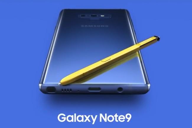 Concernant le prix du Galaxy Note 9, rien n'a été révélé mais il devrait vraisemblablement dépasser les 1 000 $. (Crédit : Samsung)