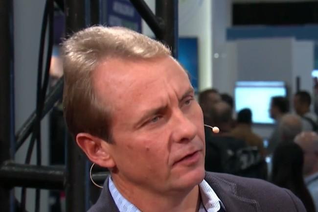 Responsable des ventes cloud pour F5 Networks, Chad Whalen a été promu à la vice-présidence des ventes mondiales de l'équipementier. (Crédit : SiliconANGLE theCUBE)
