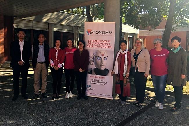 Plus de 2 000 visiteurs, professionnels, institutionnels et grand public, sont attendus pour l'édition 2018 d'E-Tonomy sur le site Le Campus situé aux Mureaux dans les Yvelines.