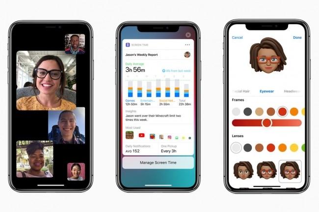 Parmi les nouveaut�s d'iOS 12, Apple a ajout� une fonction de Memoji personnalis� et des rapports hebdomadaires sur l�usage de l�appareil. (Cr�dit : Apple)
