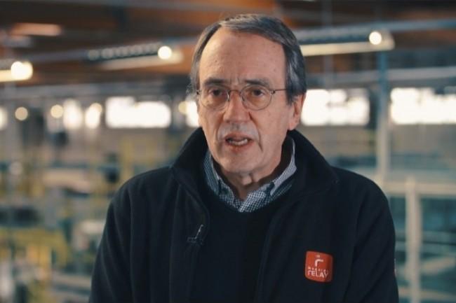 Benoît Demilly, directeur industriel, Mondial Relay Hem, explique les avantages des modules complémentaires dans le TMS Acteos. (Crédit : D.R.)