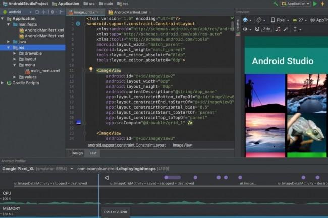 Google, qui promeut l'utilisation de Kotlin pour la création d'applications Android, modifie son SDK pour améliorer la compatibilité avec les apps développées avec le langage. (Crédit : Google)