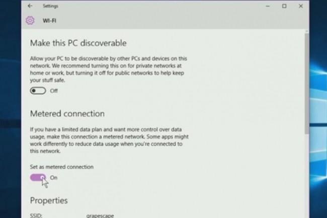 Cette astuce vous permettra d'arrêter les mises à jour automatiques de Windows 10. Mais il convient d'être prudent. (Crédit : IDG TV)