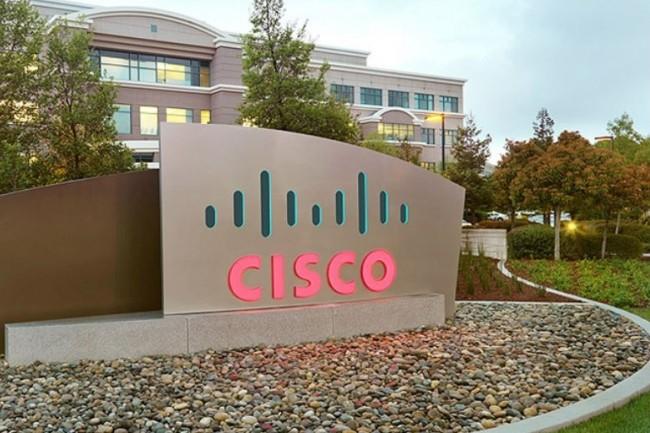L'équipementier réseau de San Jose (Californie) projette une croissance de 5% à 7% de son chiffre d'affaires pour le premier trimestre 2019, en cours. (Crédit : Cisco)