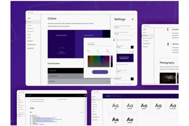 Pour aider les concepteurs et les développeurs d'applications à mieux travailler ensemble, l'outil Lucid permet par exemple aux designers de récupérer des attributs de style dans le code de leur projet. (Crédit : Lucid)
