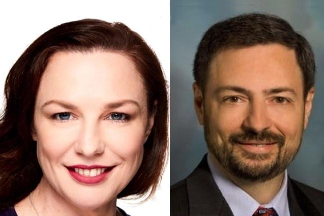 L'acquisition de StorReduce, dirigé par Vanessa Wilson, par Pure Storage, dont Charles Giancarlo est le CEO, a été finalisée durant le mois d'août. (Crédit: Linkedin et Wikipedia)