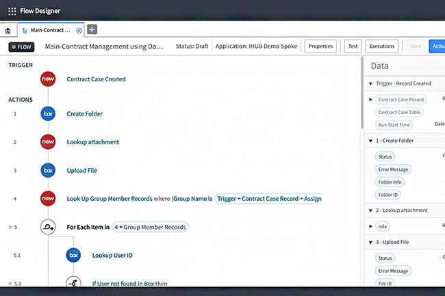 Box va créer un ensemble d'intégrations natives offrant aux clients des solutions de gestion de contenu depuis ServiceNow. (Crédit : Box)