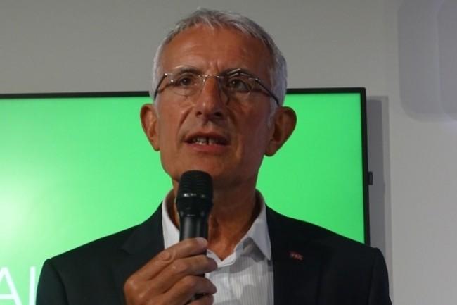 Pour Guillaume Pepy, PDG de la SNCF, « la donnée est un élément clé de la mobilité ». (Crédit Jacques Cheminat)