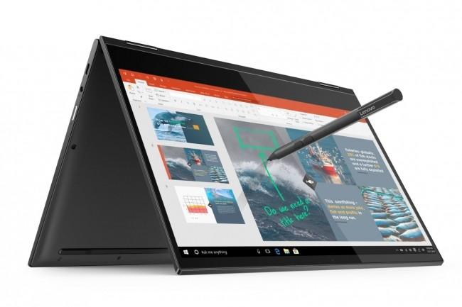 Un stylet est proposé en option avec la tablette hybride Yoga C630 de Lenovo. (crédot : Lenovo)