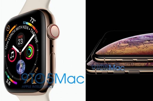 9to5Maca publié ce qu'il prétend être des fuites internes d'images Apple montrant les prochains iPhoneOledetWatch. (crédit : 9to5Mac)